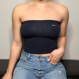 ee98e3fe0f9 Women s Nike Tube Top on Poshmark